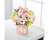 The FTD� Sweet Dreams� Bouquet - Girl in Burnaby BC, Lotus Flower & Terra Plants