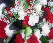 Canada Day Carnations in Belleville ON, Live, Love and Laugh Flowers, Antiques and Gifts