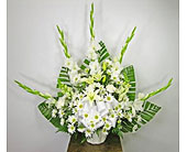 Purity Funeral Basket in Rockville MD, Palace Florists