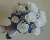 Romantic Rose Bouquet in Campbell, California, Jeannettes Flowers