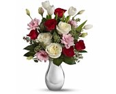 Love Forever Bouquet with Red Roses in Smyrna GA, Floral Creations Florist