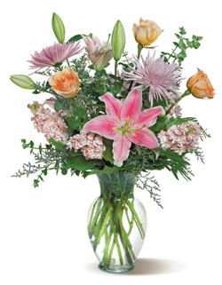 Flirty Floral in Nationwide MI, Wesley Berry Florist, Inc.