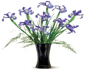 Cool Blues in Nationwide MI, Wesley Berry Florist, Inc.
