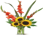 Sunrise Sunflowers in Nationwide MI, Wesley Berry Florist, Inc.