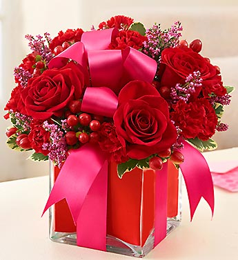 1 800-Flowers-All Wrapped up-Red in Woodbridge VA, Lake Ridge Florist