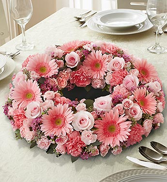 1 800 Flowers-All Pink Centerpiece in Woodbridge VA, Lake Ridge Florist