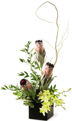 FTD� Cascading Glory� Arrangement in Nationwide MI, Wesley Berry Florist, Inc.