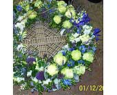 Sympathy Arrangement in Kennebunk ME, Blooms & Heirlooms