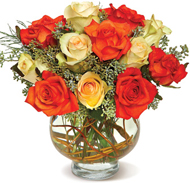 Harvest Moon Roses in Nationwide MI, Wesley Berry Florist, Inc.