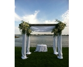 trellis/chuppah in Darien, Connecticut, Springdale Florist & Garden Center