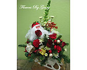 Santa's Ride in Brentwood CA, Flowers By Gerry