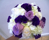 Lavendar dream bridal bouquet in Melbourne FL, Paradise Beach Florist & Gifts