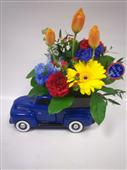 Teleflora's Pick up Truck in Belleville ON, Live, Love and Laugh Flowers, Antiques and Gifts