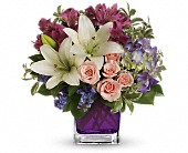 Teleflora's Garden Romance in Santa  Fe, New Mexico, Rodeo Plaza Flowers & Gifts