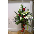 Christmas sensation arrangement in Melbourne FL, Paradise Beach Florist & Gifts