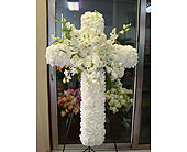 Sympathy - Large Cross in Houston, Texas, Athas Florist