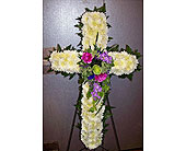 Pastel cross in Melbourne FL, Paradise Beach Florist & Gifts