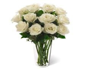FTD White Rose Bouquet in Greenville, South Carolina, Expressions Unlimited