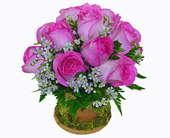 Baltimore Flowers - Terra Cotta Rose Bouquet - Raimondi's Flowers & Fruit Baskets