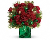 Teleflora's Yuletide Spirit Bouquet in Woodbridge VA, Lake Ridge Florist