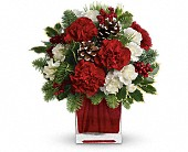 San Leandro Flowers - Make Merry by Teleflora - From The Heart Florist