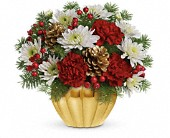 Precious Traditions Bouquet by Teleflora in Toronto ON, LEASIDE FLOWERS & GIFTS