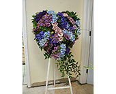 Textured heart in Melbourne, Florida, Paradise Beach Florist & Gifts