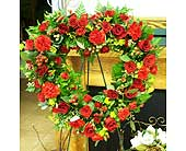 Red open heart in Melbourne FL, Paradise Beach Florist & Gifts