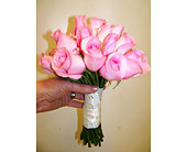 Perfectly pink wedding bouquet in Melbourne, Florida, Paradise Beach Florist & Gifts
