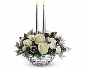 Teleflora's Splendid New Year Centerpiece in Edmonton AB, Petals For Less Ltd.