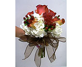 Fall chic bridal bouquet in Melbourne, Florida, Paradise Beach Florist & Gifts