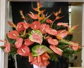 MTF624 Tropical Fan Style Arrangement in Mililani Town, Hawaii, Mililani Town Florist