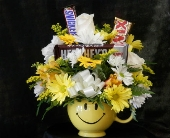 Happy Face Mug with Candy
