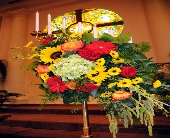 Candleabra Decoration in Lancaster PA, Heather House Floral Designs