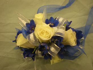 Bothell Blue Corsage in Bothell WA, The Bothell Florist