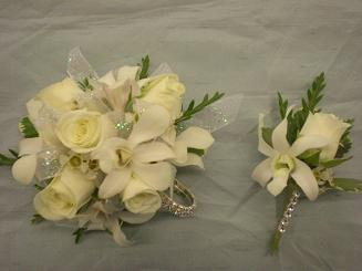 king and queen corsage and bout in Bothell WA, The Bothell Florist