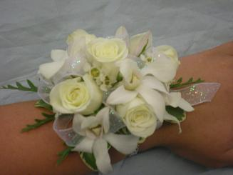 sample corsage in Bothell WA, The Bothell Florist