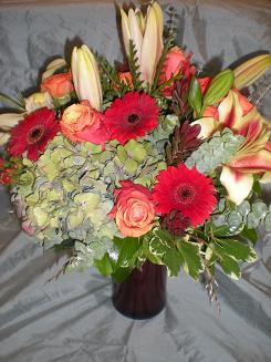 large fall bouquet in Bothell WA, The Bothell Florist