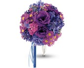 Violet Spectrum Nosegay in Scranton, Pennsylvania, McCarthy Flower Shop<br>of Scranton