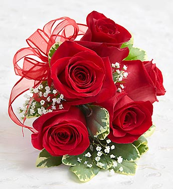 Red corsage in Woodbridge VA, Lake Ridge Florist