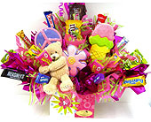 CB290  �Sweet Hugs� Candy & Cookie Bouquet in Oklahoma City OK, Array of Flowers & Gifts