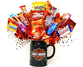 CB292  �Harley Davidson� Candy Bouquet in Oklahoma City OK, Array of Flowers & Gifts