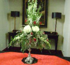 Food Table Arrangement in Huntington, West Virginia, Archer's Flowers, Inc.