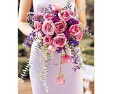 Cascading Lavender Roses Bouquet in Grand Rapids MN, Shaw Florists