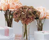 Sweet Visions Crystal Vase Trio in Palm Springs, California, Palm Springs Florist, Inc.