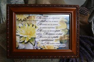 Music Box / The Lord is My Shephard in Owensboro, Kentucky, Welborn's Floral Company