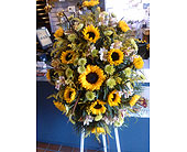 Sunflower Easel in Coraopolis PA, Suburban Floral Shoppe