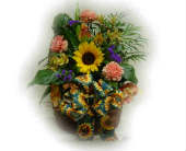 Planter Basket in Sanborn, New York, Treichler's Florist