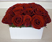Los Angeles Flowers - Red Rose Passion - Dave's Flowers &amp; Gift Baskets