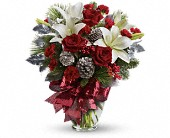 Holiday Enchantment Bouquet in Mountain Grove MO, Flowers On The Square